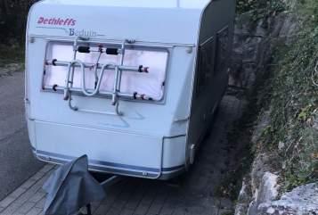 Caravan Dethleffs Chalet in Löwenstein huren van particulier