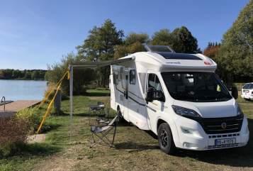 Halfintegraal Eura Mobil Tony in Hanau huren van particulier