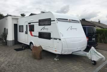 Caravan Bürstner Bürsti in Wesseling huren van particulier