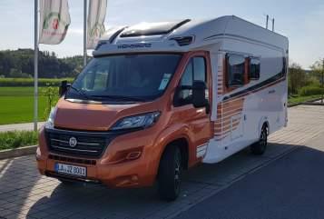 Halfintegraal Fiat BOB in Eching huren van particulier