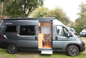 Buscamper Pössl Holiday in Soest huren van particulier
