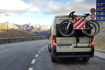 Buscamper Citroen Jumper  Ivo's Pössl in Gilching huren van particulier
