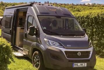 Buscamper Fiat Ducato, Pössle Orange Camper in Mühlhausen/Thüringen huren van particulier