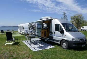 Buscamper Citroen Sepp in Aschaffenburg huren van particulier