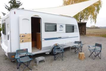 Caravan Knaus Tabbert Ring Camper in Herrenberg huren van particulier