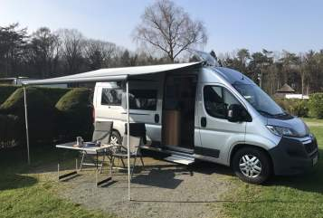 Buscamper Pössl Pössl-to-join in Marburg huren van particulier