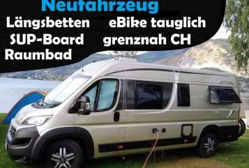 Buscamper Pössl Roadcruiser  in Frittlingen huren van particulier
