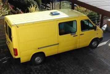 Buscamper VW LT 35 la Sol  in Seligenstadt huren van particulier