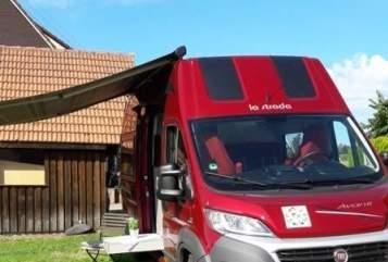 Buscamper La Strada  Luna in Bad Wildbad huren van particulier