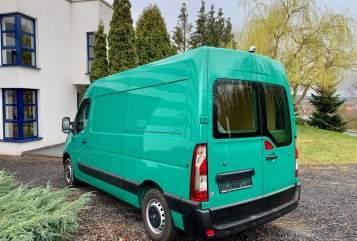 Buscamper Opel Movano Rudy in Mechernich huren van particulier