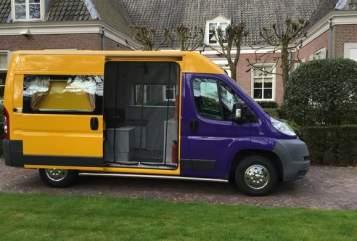 Buscamper Citroen Bassie in Bilthoven huren van particulier