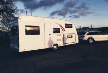 Caravan Bürstner play-Mobil 510 in Rostock huren van particulier