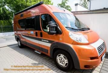 Buscamper Fiat Ducato Adriane in Regensburg huren van particulier