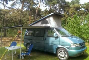 Kampeerbus Volkswagen T4 Generation in Cuijk huren van particulier