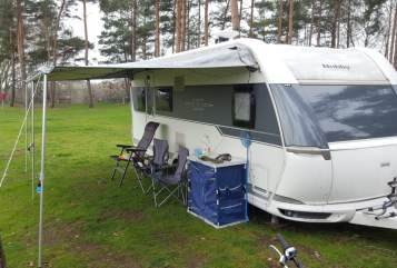 Caravan Hobby  Familienbude in Bielefeld huren van particulier