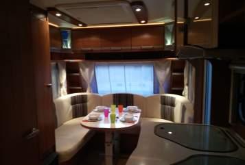 Caravan Lmc Musica 490 E Lmc caravan in Haaksbergen huren van particulier