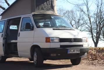 Kampeerbus VW T4 Syncro VW Bulli in Hürth huren van particulier