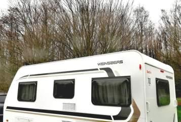 Caravan Weinsberg  Cosy Camping in Hünxe huren van particulier