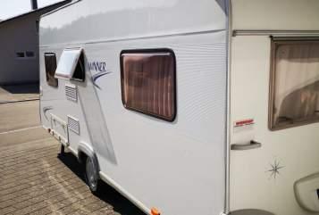 Caravan Bürstner Winner 4 4 in Sigmaringen huren van particulier