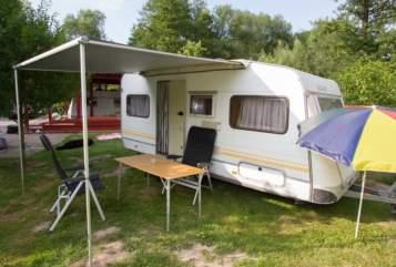 Caravan Knaus Klaus in Bad Oeynhausen huren van particulier