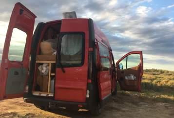 Buscamper Opel  Dino in Regensburg huren van particulier