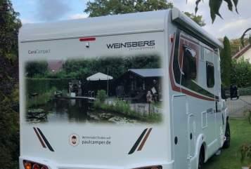 Halfintegraal Weinsberg  Manni in Wardow huren van particulier