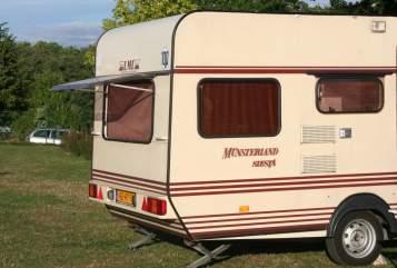 Caravan LMC  Vaste huurprijs in Vleuten huren van particulier