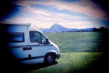 Buscamper Opel Martina Camper in Nierstein huren van particulier
