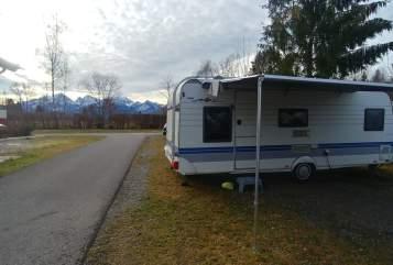 Caravan Hobby Banyista in Enger huren van particulier