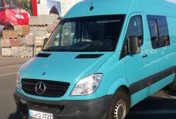 Buscamper Mecedes Sprinter  sprinty in Grünheide huren van particulier