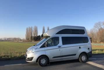 Kampeerbus Ford Pepito in Bonn huren van particulier