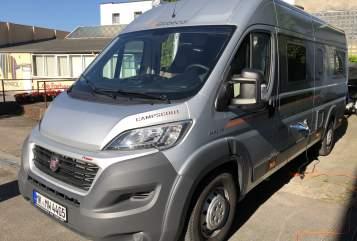 Buscamper Globecar MiWi 4405 in Kreis Iserlohn huren van particulier
