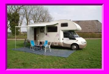 Alkoof Ford Rimor 4 Vila Mobil in Tilburg huren van particulier