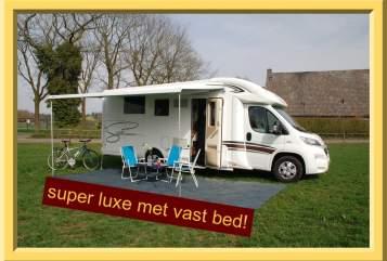 Alkoof Fiat  7 Mc Louis in Tilburg huren van particulier