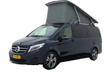 Kampeerbus Mercedes Benz  Marco Polo  in Emst huren van particulier