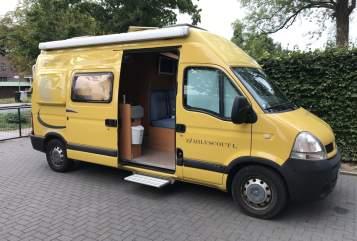 Buscamper Globecar BIBO in Elmshorn huren van particulier