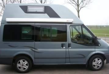 Buscamper Ford Transit Ford Nugget in Montfoort huren van particulier