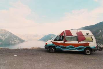 Kampeerbus VW BOY in Wien huren van particulier