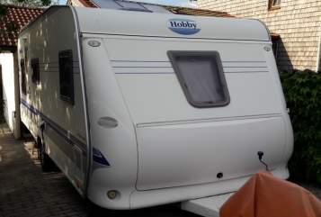 Caravan Hobby Hörbi in Siegsdorf huren van particulier