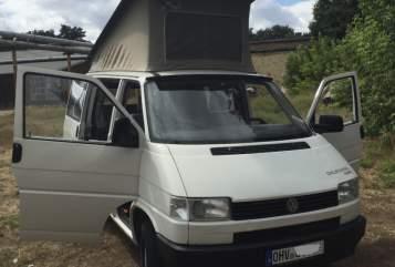 Kampeerbus VW T4 Opa Cali  in Birkenwerder huren van particulier