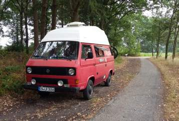 Kampeerbus VW Orti in Salem huren van particulier