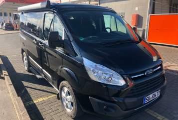 Kampeerbus Ford Custom Transit  Nugget in Ruppichteroth huren van particulier