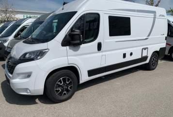 Buscamper Pössl BELLA -2019 neu in Putzbrunn huren van particulier