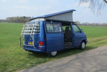 Kampeerbus Volkswagen t4 Zo nu eerst een in Veldhoven huren van particulier