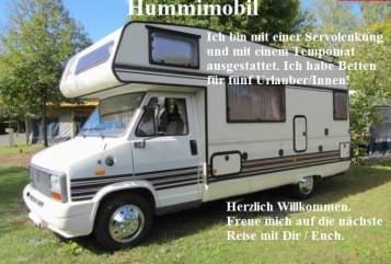 Alkoof Bürstner   Hummimobil  in Gössendorf huren van particulier