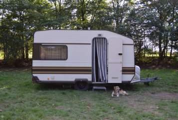 Caravan Knaus Kurt in Wanderup huren van particulier