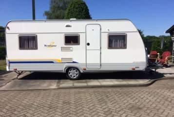 Caravan Burstner Ventana in Tilburg huren van particulier