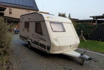 Caravan Cristall 420 LB in Kromsdorf huren van particulier