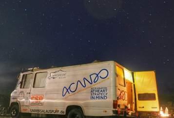 Buscamper Mercedes  Dicki  in Norderstedt huren van particulier