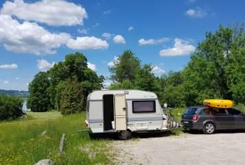 Caravan Hobby Dieter in Edingen-Neckarhausen huren van particulier